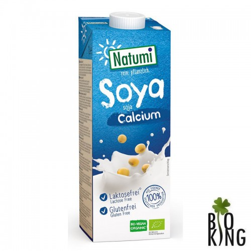 Napój sojowy z wapniem z alg bez glutenu bio Natumi