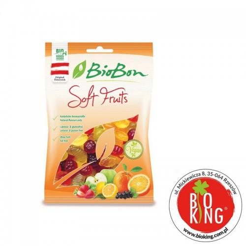 Żelki owocowe Soft Fruits ekologiczne BioBon
