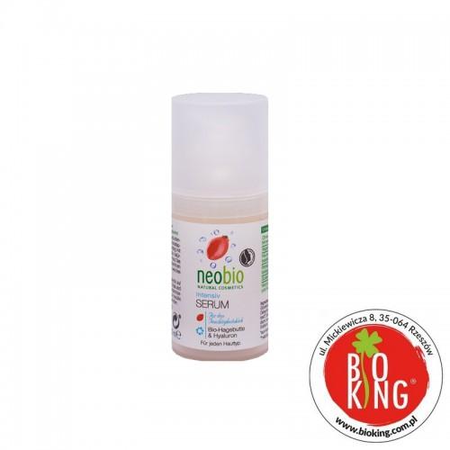 Serum nawilżające bio dzika róża i hialuron Neobio