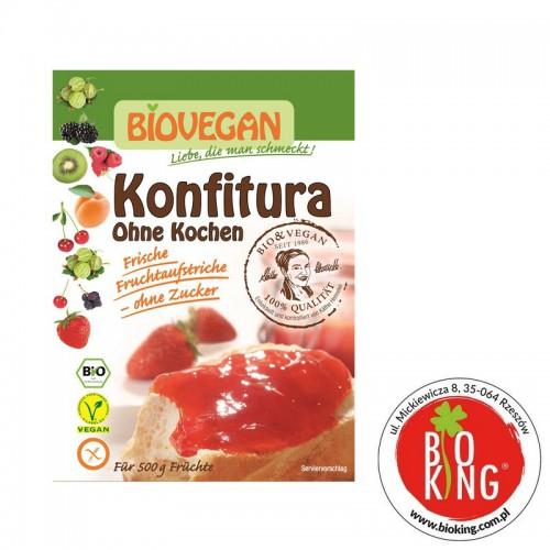 Środek żelujący do konfitur bez gotowania bio Biovegan