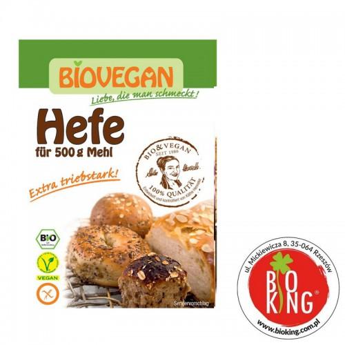 Drożdże suszone bezglutenowe bio Biovegan