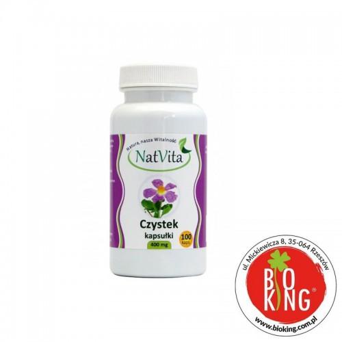 Bio czystek kapsułki celulozowe NatVita