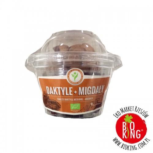 Zdrowe Delicje: daktyle + migdały bio Organic House