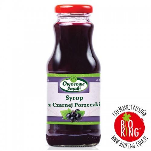 Syrop bio z czarnej porzeczki Owocowe Smaki