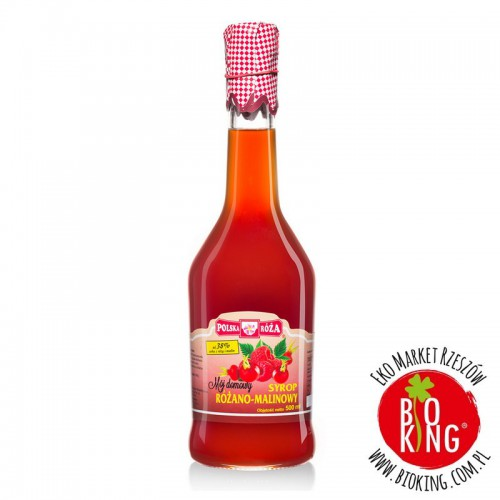 Syrop różano-malinowy Polska Róża
