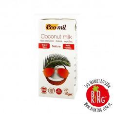 Napój kokosowy niesłodzony, bez cukru Ecomil