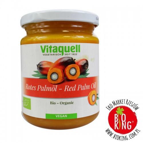 Olej palmowy czerwony bio Vitaquell