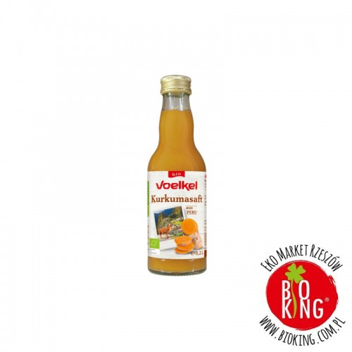 Ekologiczny sok z kurkumy Voelkel