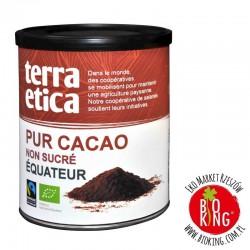 Kakao fair trade ekologiczne niesłodzone Terra Etica