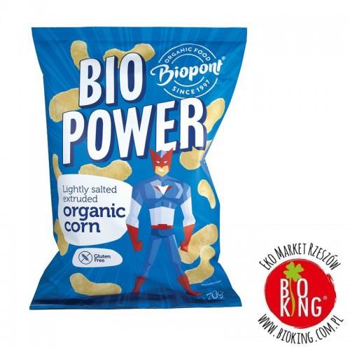 Chrupki kukurydziane bio lekko solone Biopont