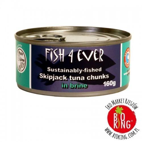 Tuńczyk kawałki w solance Fish4Ever