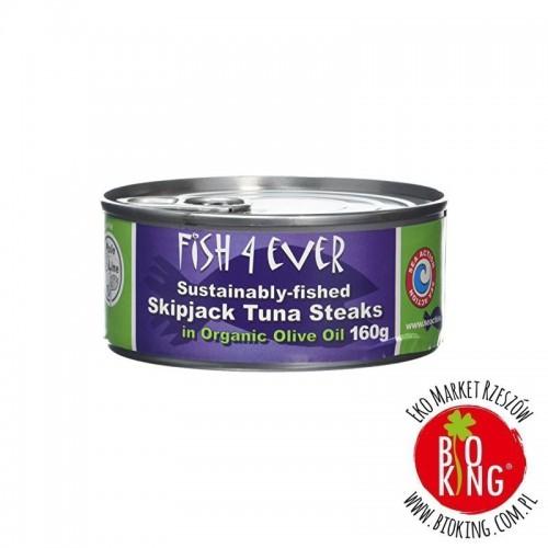 Tuńczyk Steak w oliwie z oliwek Fish4Ever