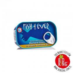 Makrela w bio oleju słonecznikowym Fish4Ever