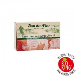 Tuńczyk lekki w bio oliwie z oliwek Pan Do Mar