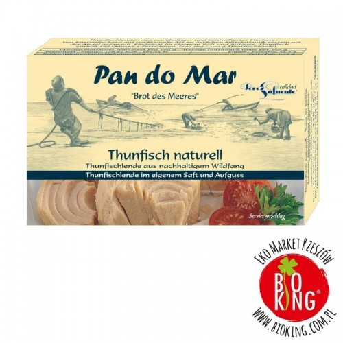 Tuńczyk w sosie własnym hiszpański Pan Do Mar
