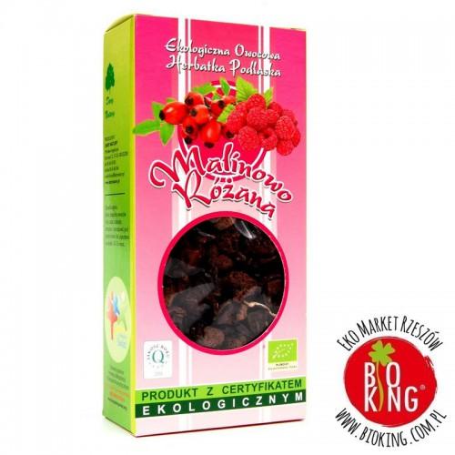 Herbatka bio malinowo - różana Dary Natury