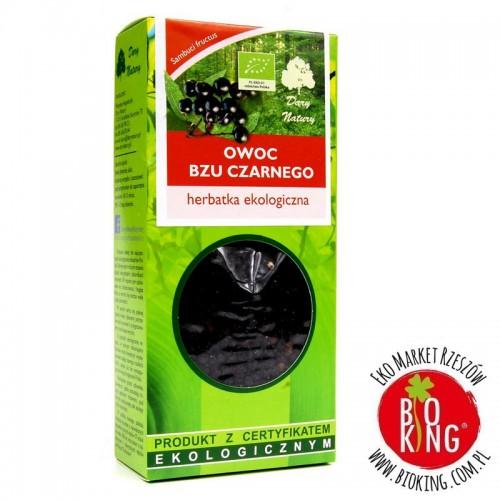 Herbata ekologiczna owoc bzu czarnego Dary Natury