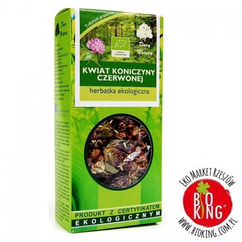 Herbatka kwiat koniczyny czerwonej bio Dary Natury