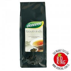 Herbata czarna Południowe Indie liście bio Dennree