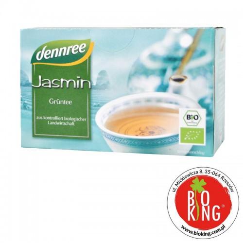 Herbata zielona jaśminowa expresowa bio Dennree