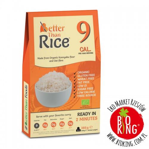 Makaron konjac bio w kształcie ryżu Better Than Foods