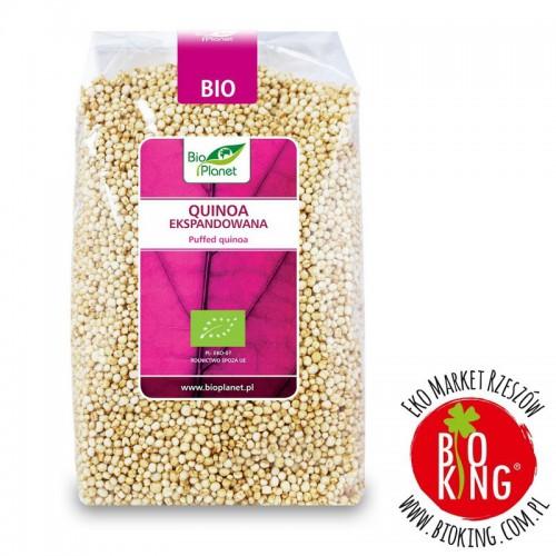 Quinoa (komosa ryżowa) ekspandowana bio Bio Planet