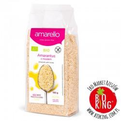 Amarantus ekspandowany z miodem bio Amarello