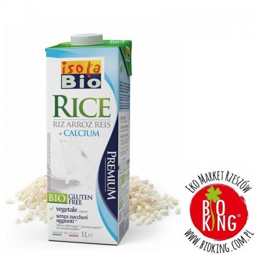 Napój ryżowy bio z wapniem bezglutenowy Isola