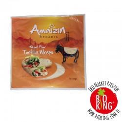 Tortilla pszenna wrapy bio Amaizin