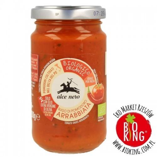Sos pomidorowy arrabbiata bio Alce Nero