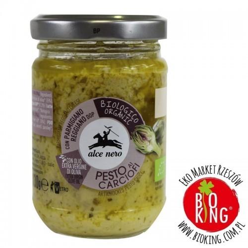 Pesto z karczocha ekologiczne Alce Nero