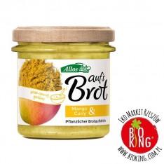 Pasta kremowa z mango i curry bio Allos