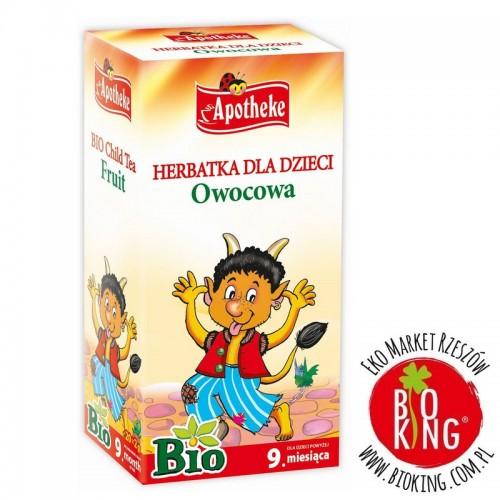 Owocowa herbatka bio dla dzieci Apotheke