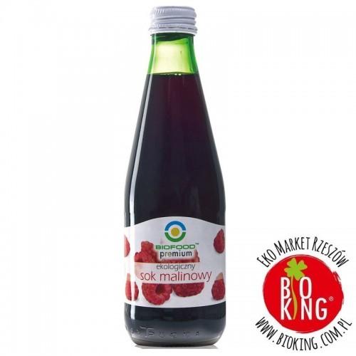 Ekologiczny sok malinowy BioFood