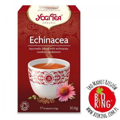 Herbatka echinacea ekologiczna Yogi Tea