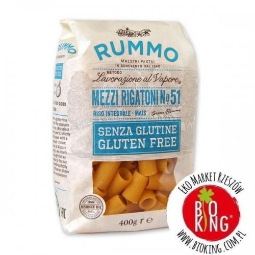 Makaron bezglutenowy Mezzi Rigatoni włoski Rummo