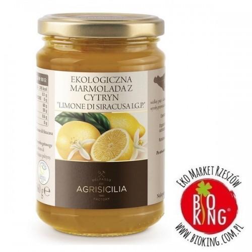Marmolada z cytryn bio Limone di Siracusa I.G.P Agrisicilia