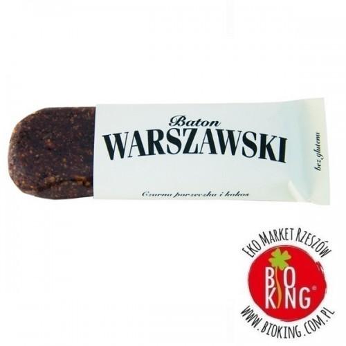 Baton czarna porzeczka i kokos Baton Warszawski