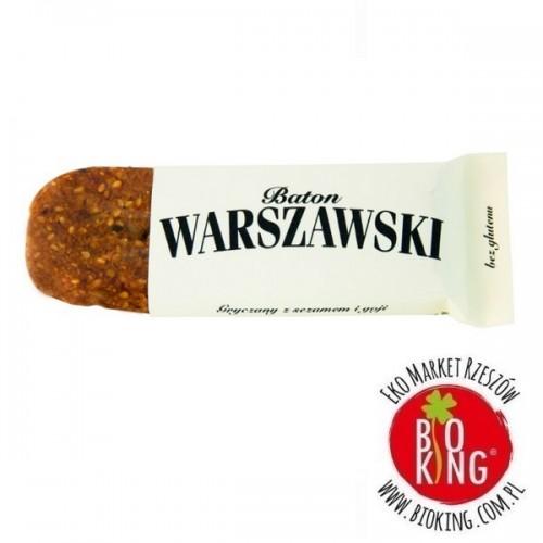 Baton gryczany z sezamem i goji Baton Warszawski