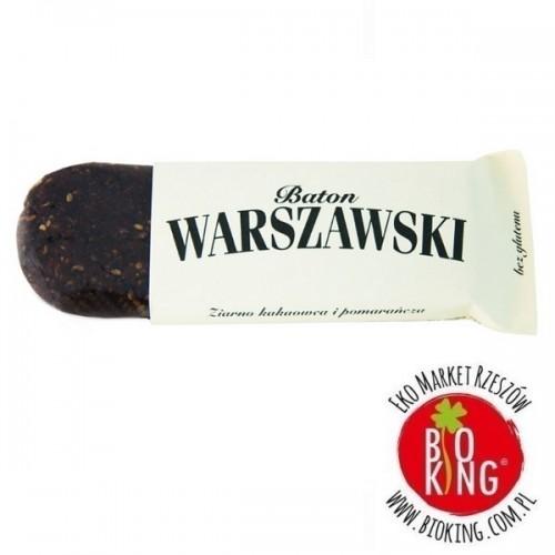 Baton ziarno kakaowca i pomarańcza Baton Warszawski