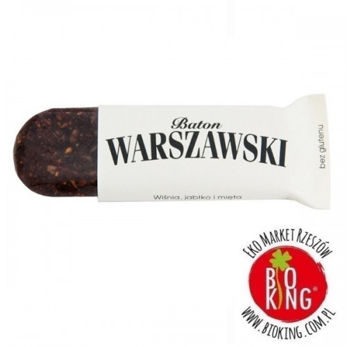 Baton wiśnia jabłko mięta Baton Warszawski