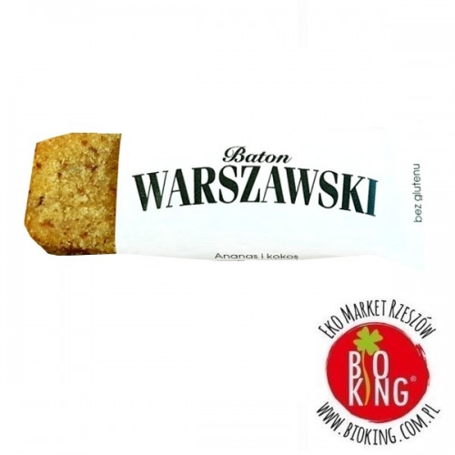 Baton ananas i kokos Baton Warszawski