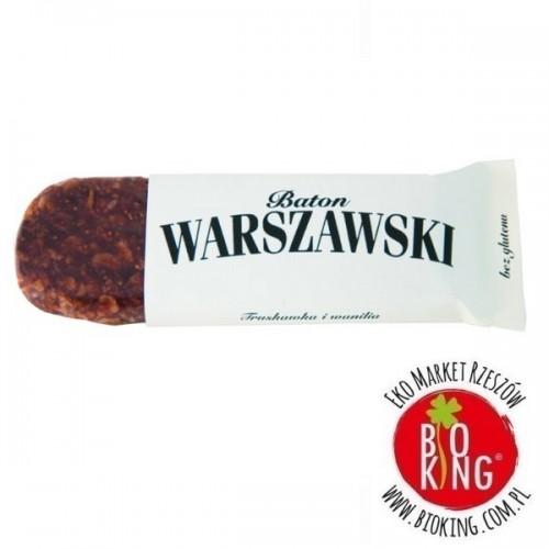 Baton truskawka i wanilia Baton Warszawski