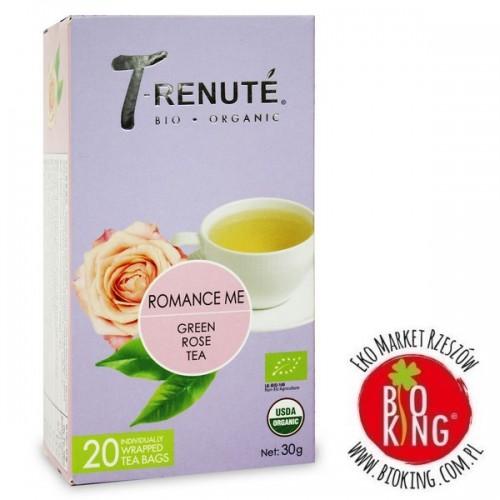 Herbata zielona różana bio Romance Me Trenute