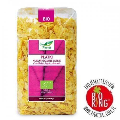 Płatki kukurydziane jasne bio - Bio Planet