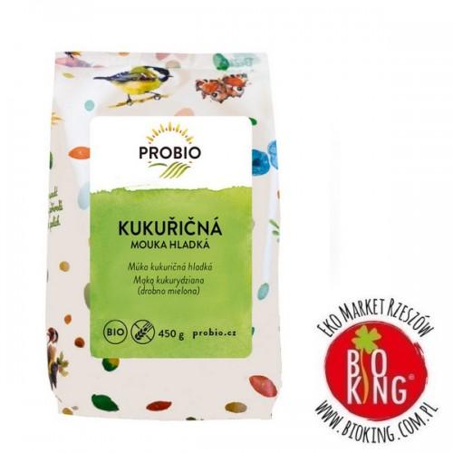 Mąka kukurydziana drobno mielona bez glutenu Pro Bio