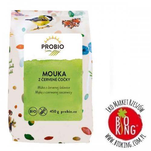 Mąka z czerwonej soczewicy bez glutenu bio Probio