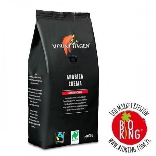Kawa ziarnista Arabica Crema fair trade bio Mount Hagen
