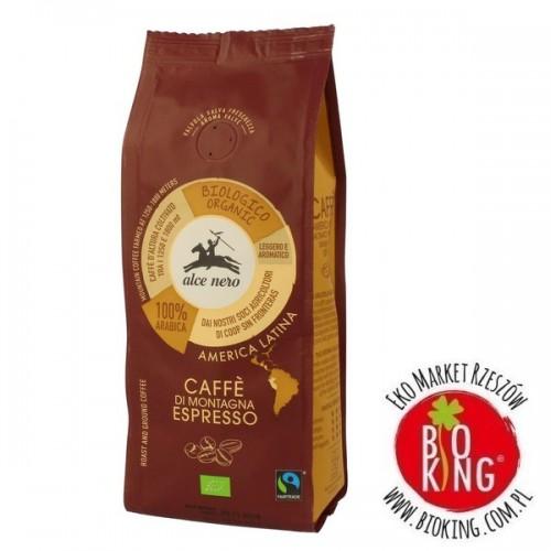 Kawa 100% arabica espresso fair trade bio Alce Nero