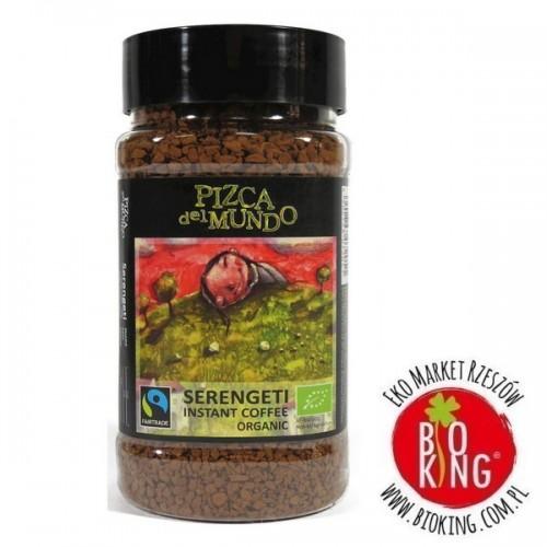 Kawa rozpuszczalna robusta Serengeti fair trade bio Pizca del Mundo